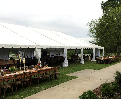40u0027 wide Frame Tent - Expands in 40u0027 x 15u0027 sections. Can make a 40u0027 x 40u0027; 40u0027 x 55u0027; 40u0027 x 70u0027; 40u0027 x 85; 40u0027 x 100u0027... all the way ...  sc 1 st  Unlimited Party Rental & Tents-Unlimited Party Rental-Dallas Marietta Rome GA